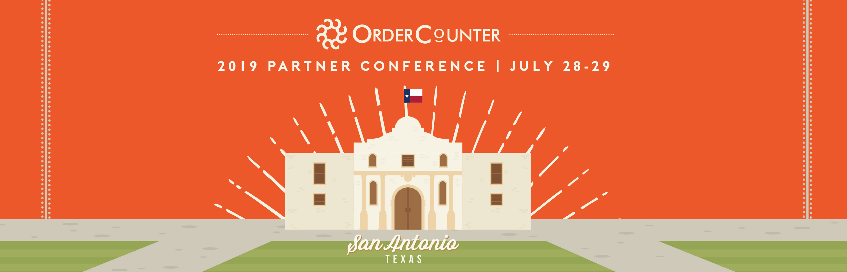 OrderCounter Cloud Hybrid POS- partner conference point of sale system Self-Serve Kiosks