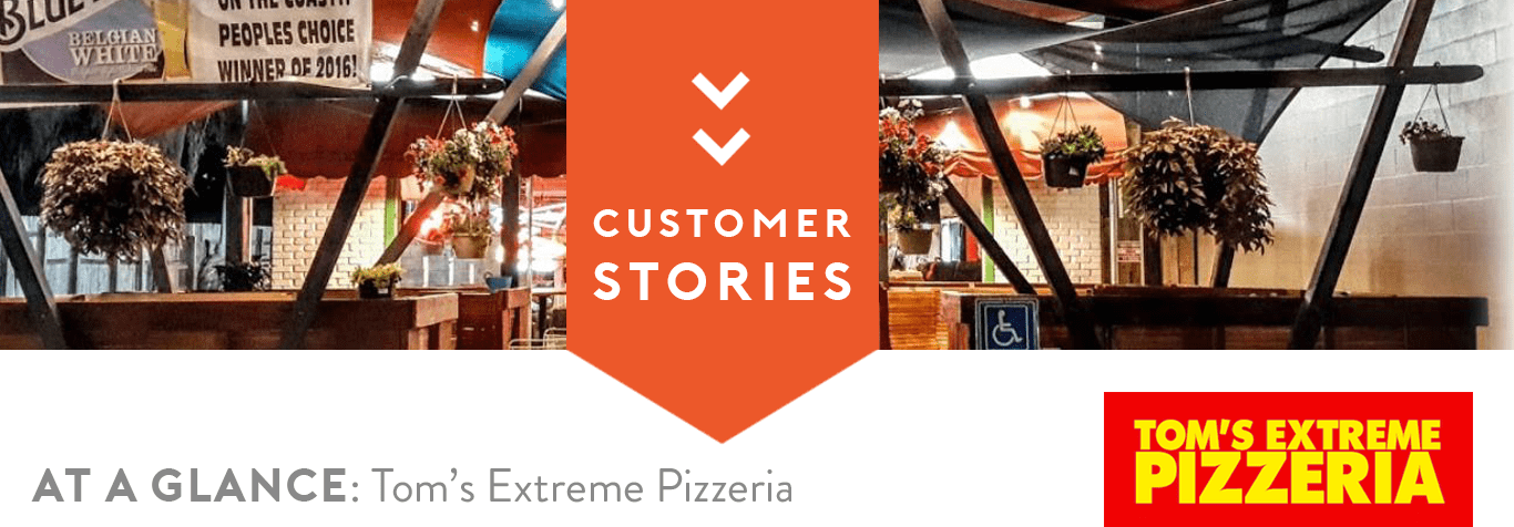 ordercounter, point of sale, pizza pos, pizzeria, tom's extreme, case study
