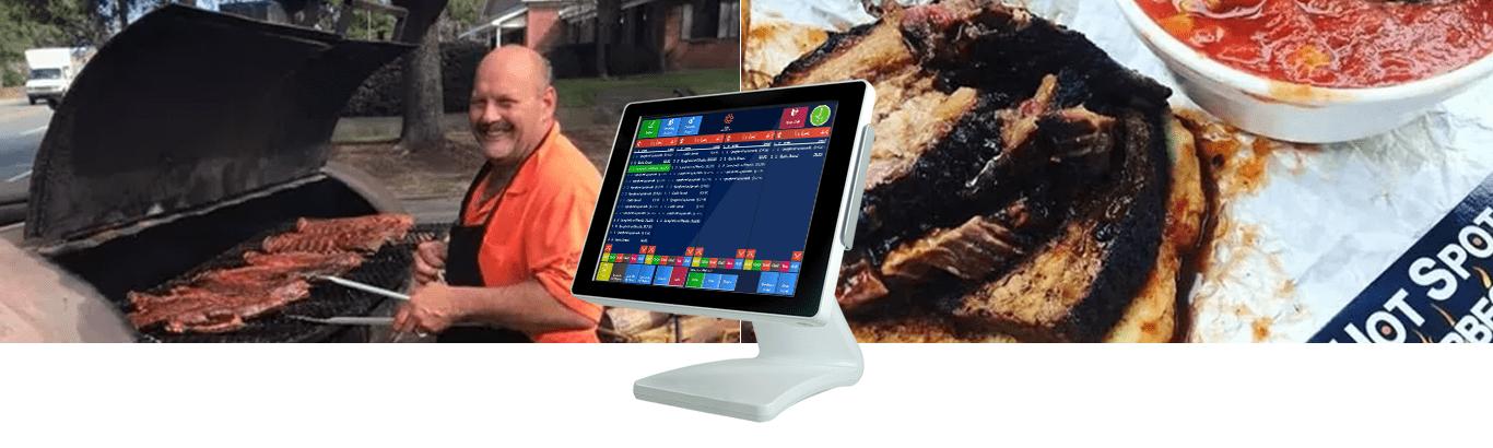 OrderCounter Hot Spot BBQ , pensacola POS, restaurant POS