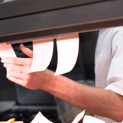 OrderCounter Cloud Hybrid POS- Orders go directly to kitchen printer
