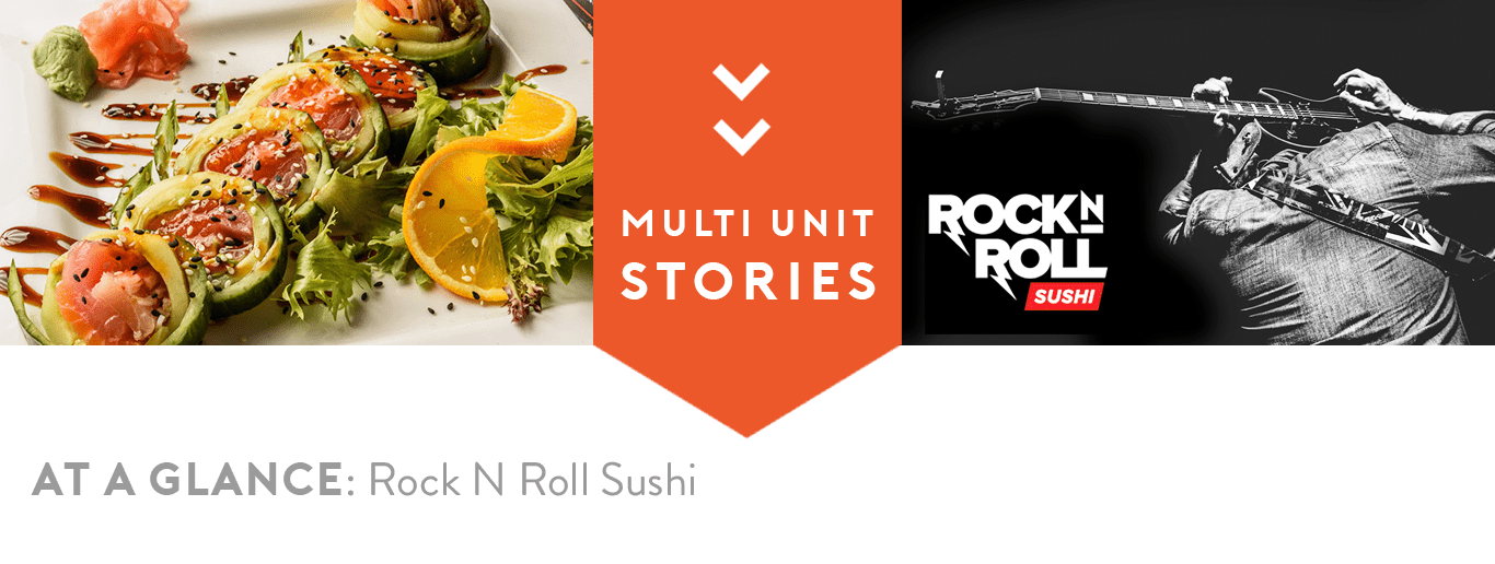 Rock N Roll Sushi Record Sales