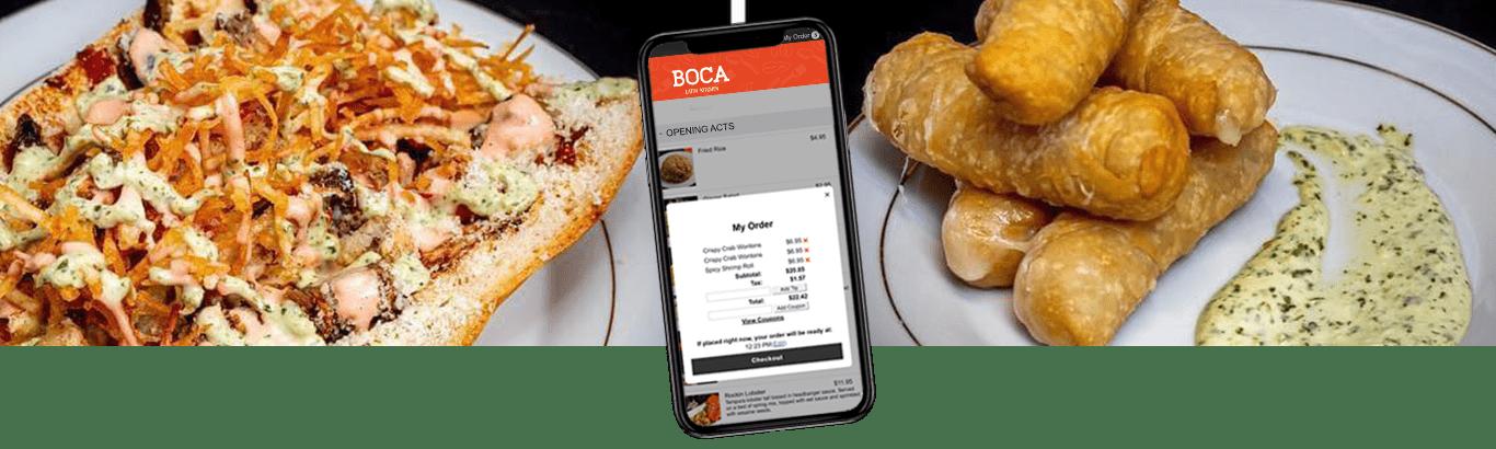 Hybrid-Pos- online ordering