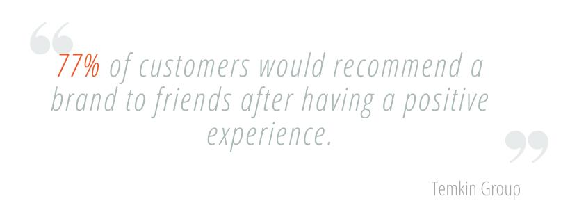 Importance of customer service restaurants